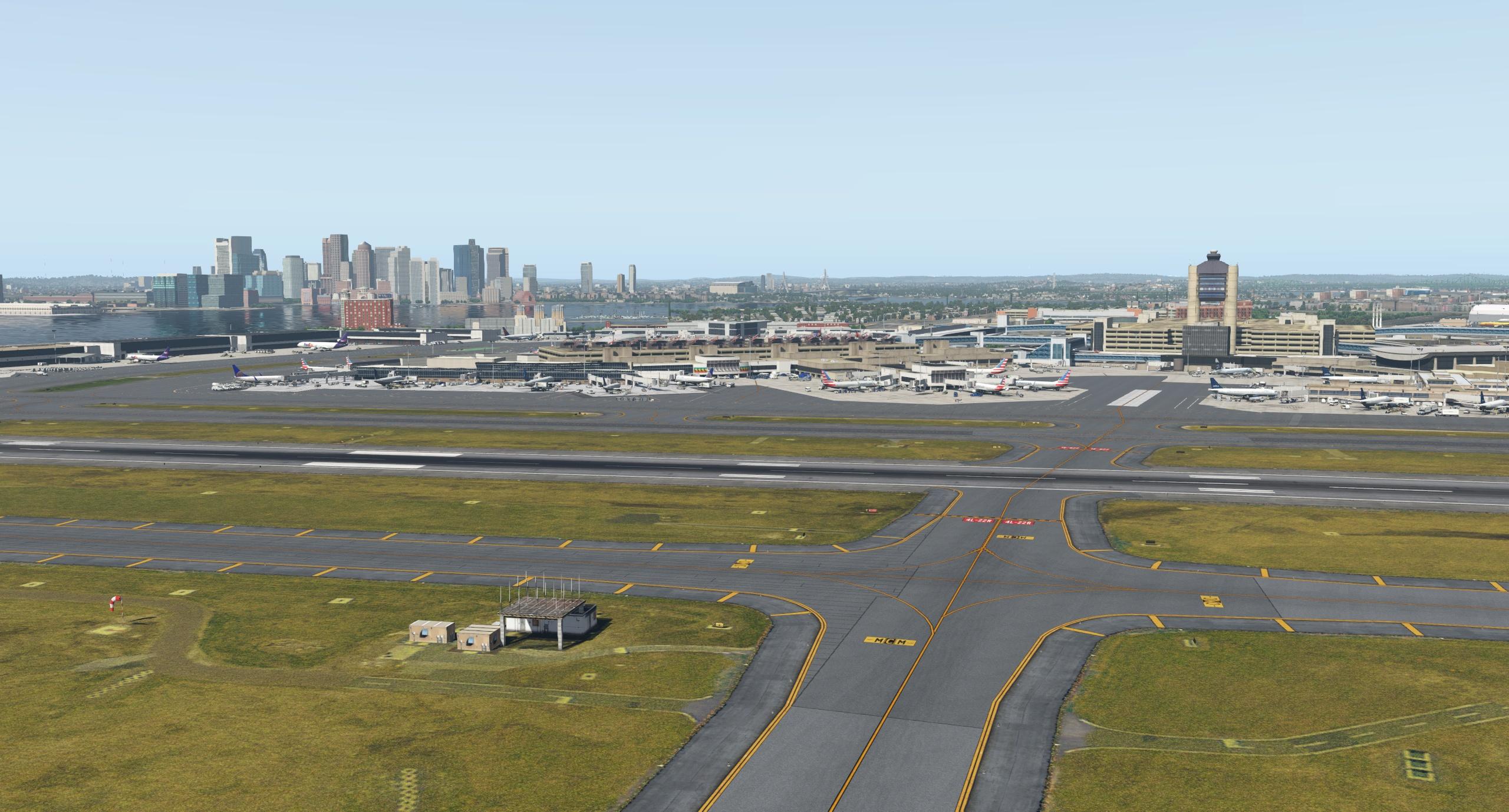 The incredible Boston scenery by Mister X - The AVSIM Screen